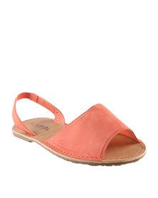 AWOL Slingback Sandals Orange