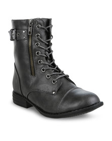 AWOL Utility Boots Black