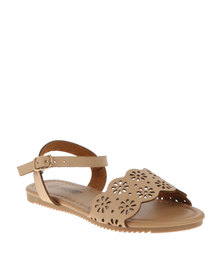 AWOL Sling Back Sandals Tan