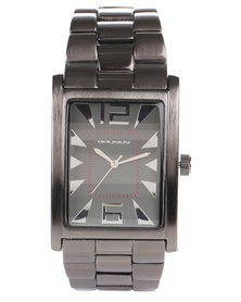 Bad Boy Edge Gunmetal Strap Watch