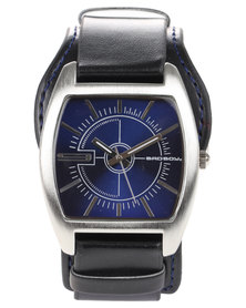 Bad Boy Storm Square Face Watch Black