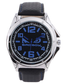 Bad Boy Nemesis Analogue Watch Black