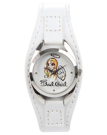 Bad Girl Bad Angel Watch White