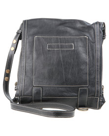 Baobab Leather Ilo Bag Black