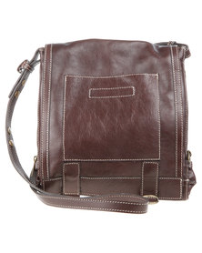 Baobab Leather Ilo Bag Brown