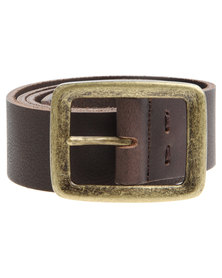 Baobab Leather Bem Belt Brown