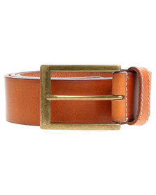 Baobab Leather Akono Belt Tan