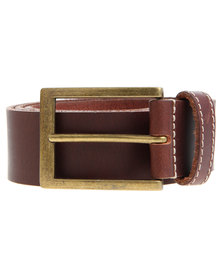Baobab Leather Akono Belt Brown