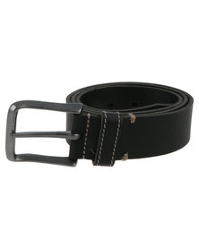 Baobab Leather Akono Belt Black