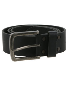 Baobab Leather Zalika Belt Black