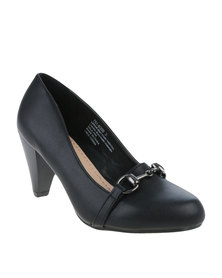 Bata Ladies Block Heel Black