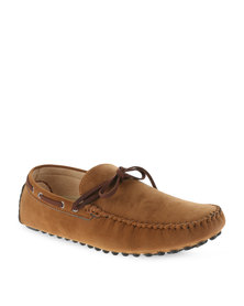 Bata Casual Slip-On Shoes Brown