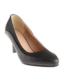 Bata Court Heels Black
