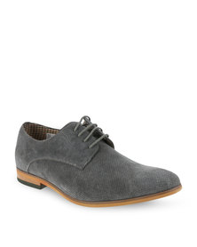 Bata Dress Suede Leather Shoes Grey