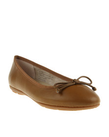 Bata Casuals Contemporary Pumps Camel