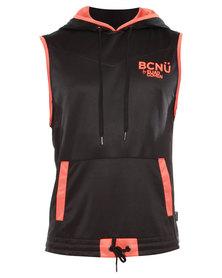 BCNU Freestyle Tank Hoodie Black