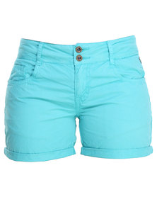Being Human Woven Shorts Blue/Green