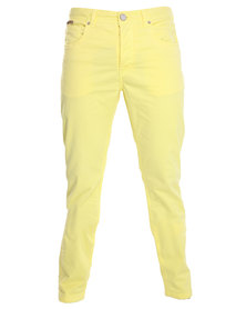 Being Human Woven Chinos Yellow