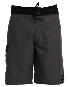 Billabong All Day Heather Boardies Charcoal