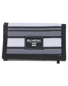 Billabong Atom Woven Label Wallet Grey