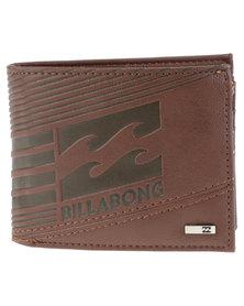 Billabong Junction Wallet Brown