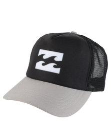 Billabong Wave Logo Trucker Cap Black