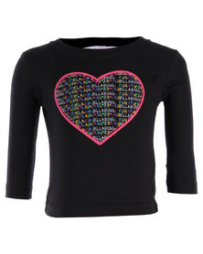 Billabong Heartstring Long Sleeve T-shirt Black