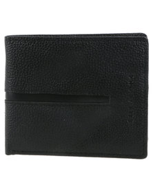 Billabong Empire Leather Wallet Grey