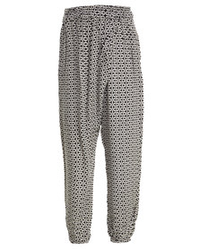 Billabong Geometry Pants Black and White