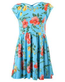 Billabong Sunchaser Dress Blue