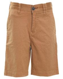 Billabong New Order 17 Shorts Camel