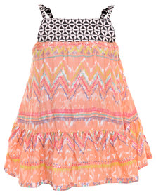Billabong High Fiven Dress Multi-Colour