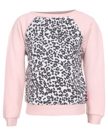 Billabong Cool Chang Crew Sweater Pink