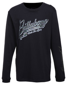Billabong Higher Ground L/S Cuff Tee Black