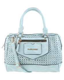 Blackcherry Zip Pocket Detail Handbag Blue