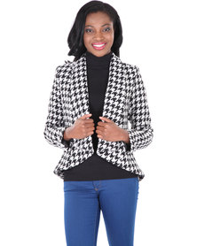 Black Eyed Susan Shaken Not Stirred Jacket Multi