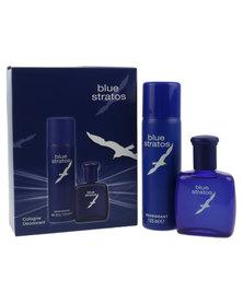Blue Stratos Cologne Deodrant Gift Offer