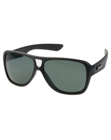 BondiBlu Chunky Aviator Sunglasses Black