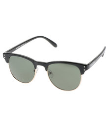 Bondiblu Clubmaster Sunglasses Black With Free Gift