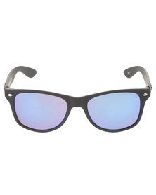 Bondiblu Wayfarer Mirror Sunglasses Black