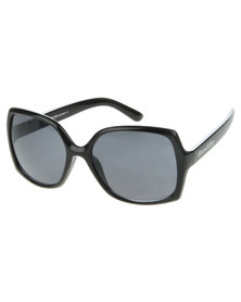 Bondiblu Oversized Square Sunglasses Black
