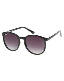 Bondiblu Large Round Sunglasses Black