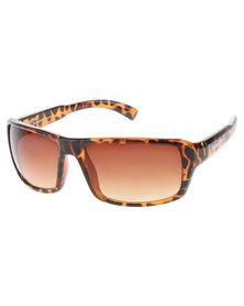 Bondiblu Tortoise Frame Sunglasses Brown
