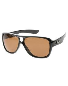 Bondiblu Frame Aviator Style Sunglasses Black