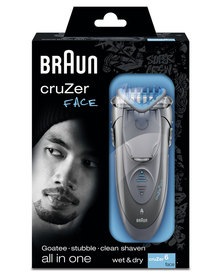 Braun Male Styler Cruzer 6 Face Shaver &Trimmer