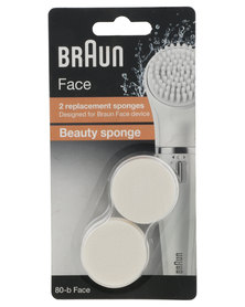 Braun Face 810 Epilator 2 Replacement Beauty Sponge