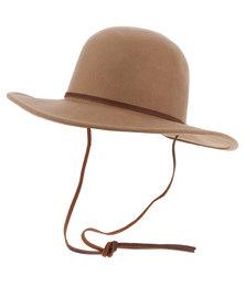 Brixton Tiller Wool Hat Tan