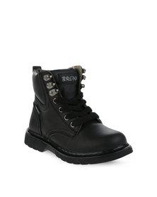 Bronx Kids Duel Boots Black