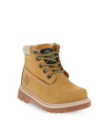 Bronx Kids Hunter Boots Mustard