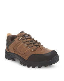 Bronx Men Deon Leather Casual Shoes Brown